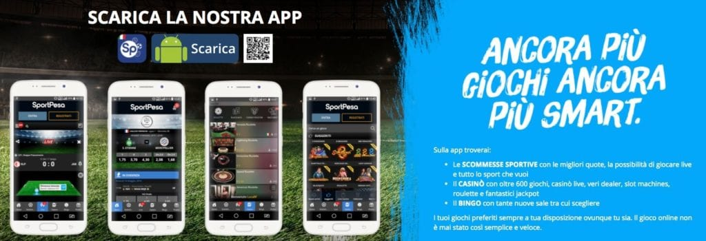 Sportpesa app